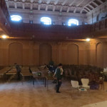 Зал в Українському домі, де співала С.Крушельницька
