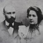 Михайло-Коцюбинський-з-дружиною-ВіроюДейшею