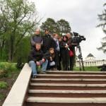 Зйомки в Качанівці - 2