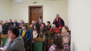 20.Обговорення в Українському домі