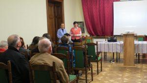 23. Натаклка Сопіт і Марія Туцка в Українському домі