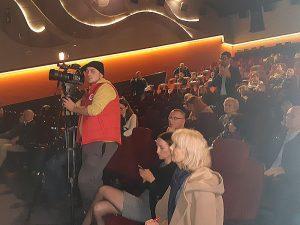 Журналісти на прес-конференції