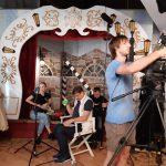 Зйомки в Музеї кіно на кіностудії в Одесі