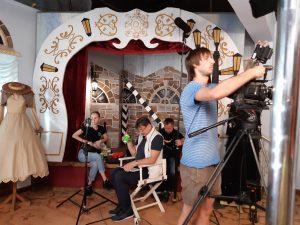 В знімальному павільйоні - Музеї історії кіно