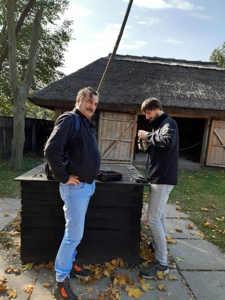 Василь ВІтер та Арсеній Бортник